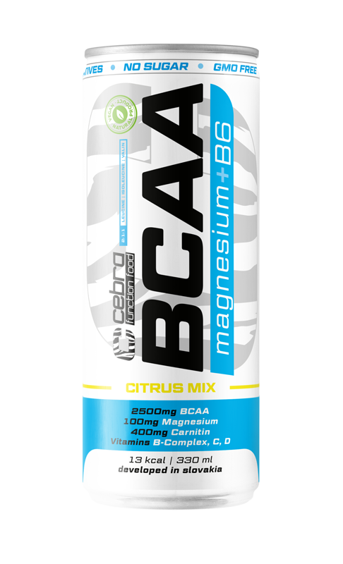 CFF BCAA Mg+B6 330 ml